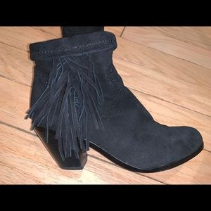 Sam Edelman 6 fringe boots